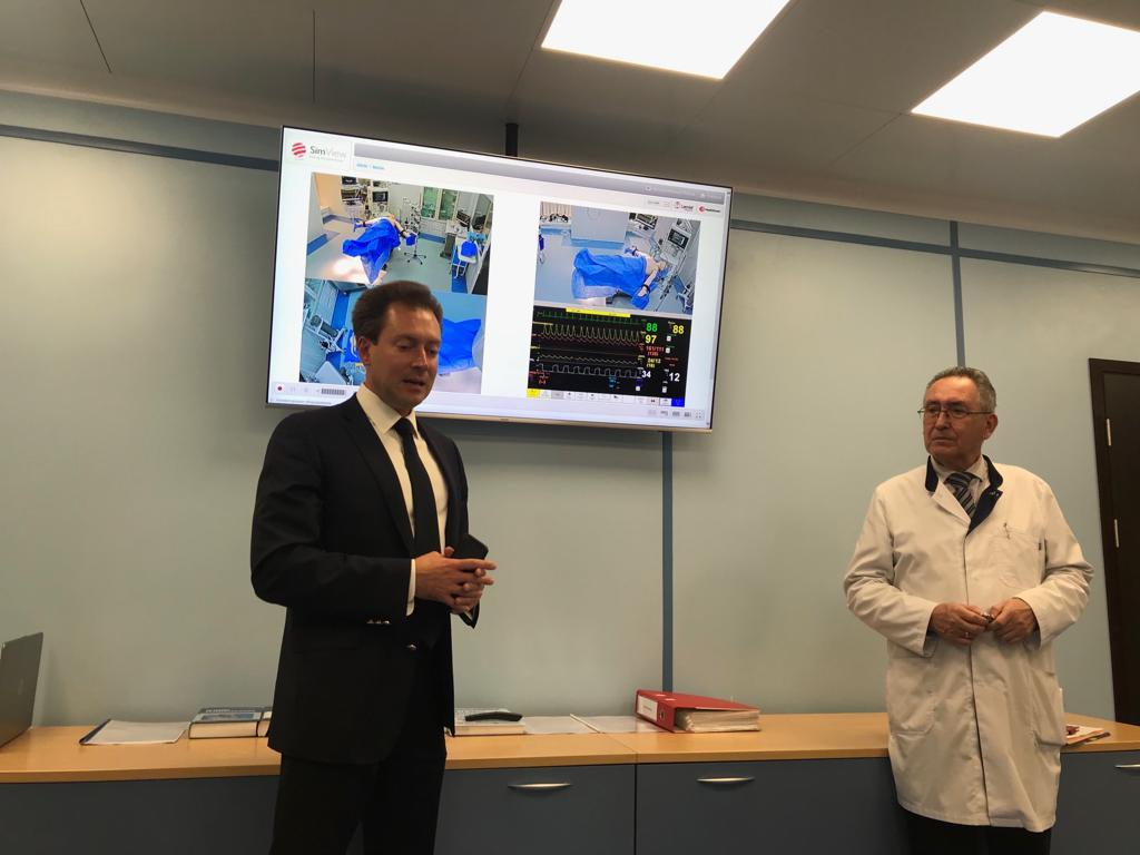 22 октября 2019 года в НИИ общей реаниматологии имени В.А. Неговского ФНКЦ РР состоялось открытие лаборатории перспективных симуляционных технологий (Центр симуляционных технологий)