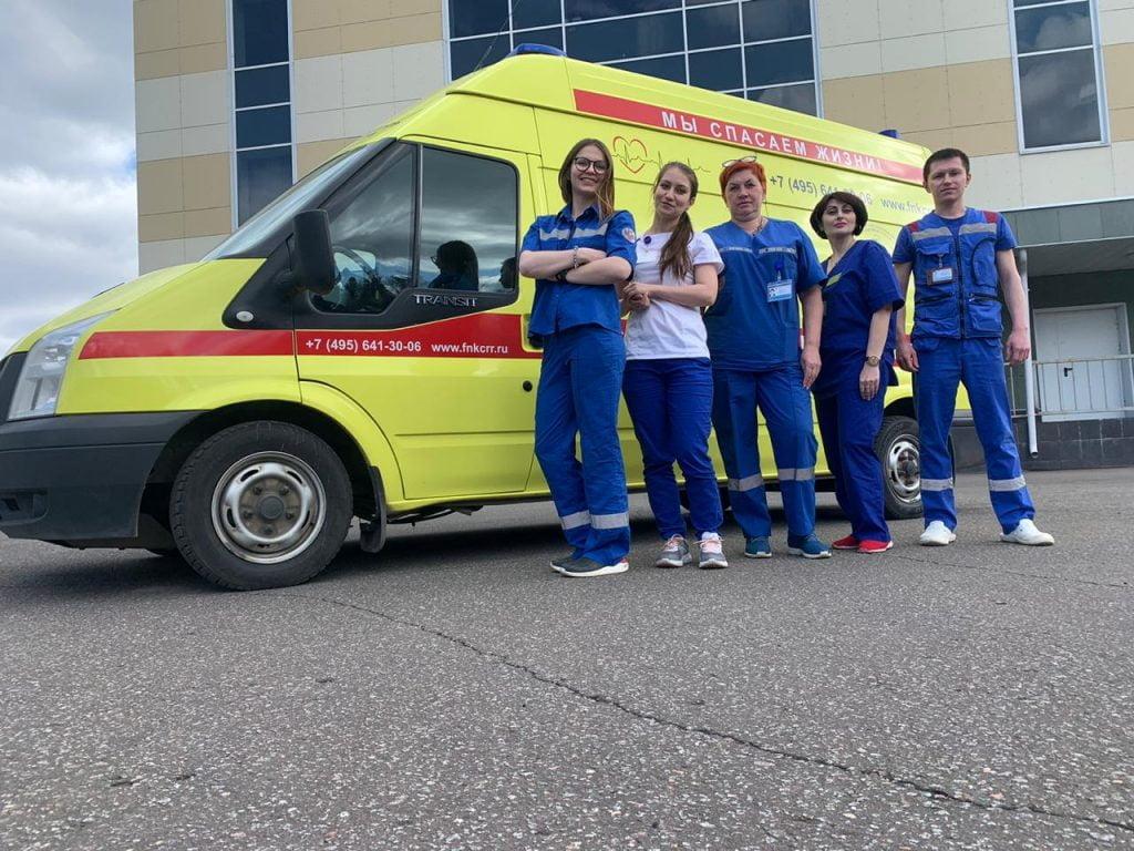 Поздравляем наших коллег –  отделение скорой медицинской помощи НИИ реабилитологии ФНКЦ РР с профессиональным праздником – Днём работников скорой медицинской помощи!
